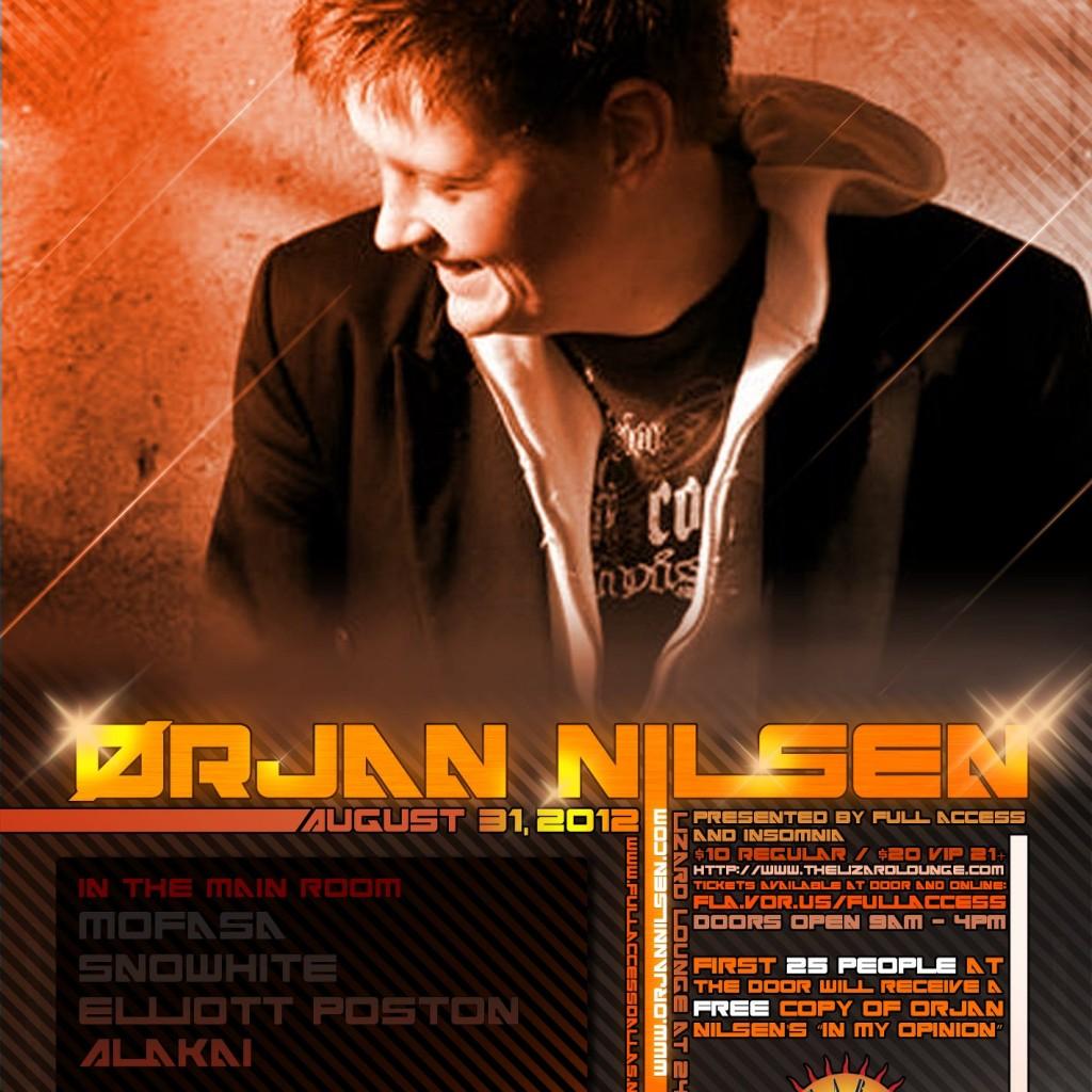 Orjan Nilsen Poster